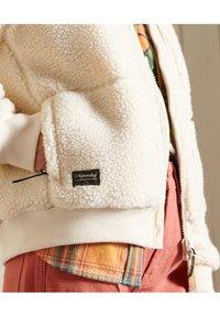 Superdry - SHERPA - Fleece jacket - pale oatmeal - 4