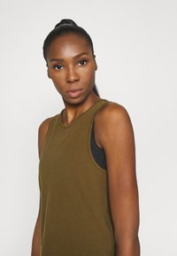 Even&Odd active - Top - military olive - 3