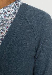 Esprit - BUTTONED CARDIGAN - Cardigan - grey blue - 4
