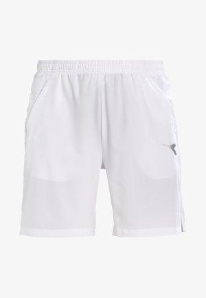 SHORT COURT - Pantalón corto de deporte - optical white