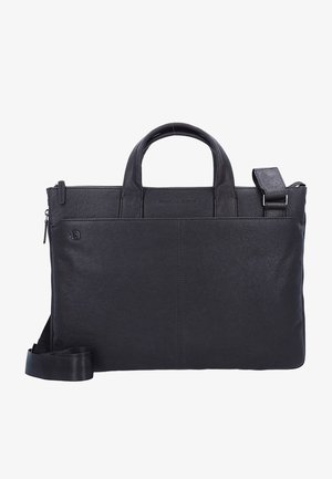 BLACK SQUARE  - Briefcase - dark brown