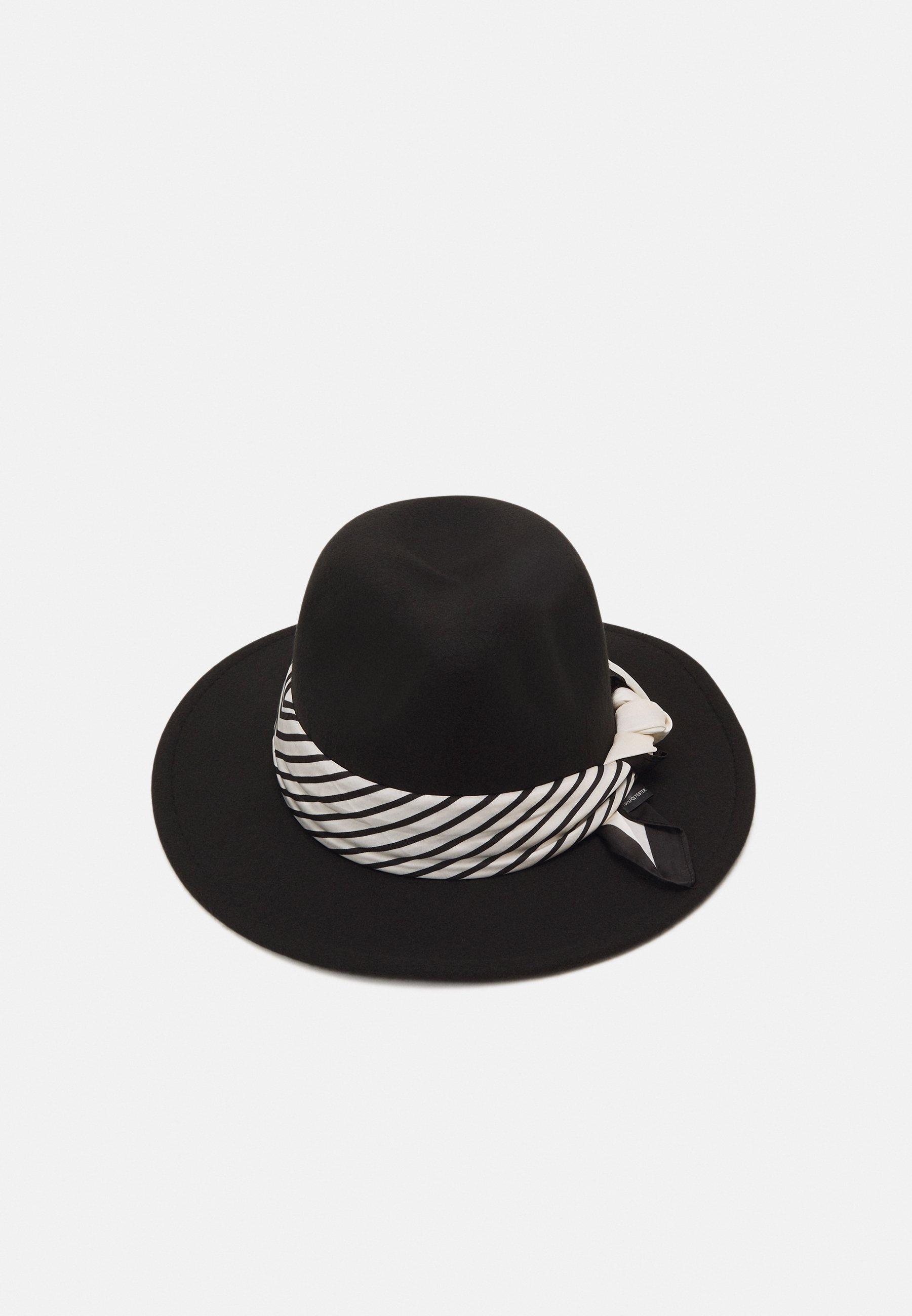 Donna SCARF TRIM FEDORA UNISEX - Cappello