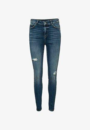 VMSEVEN  - Jeansy Slim Fit - medium blue denim