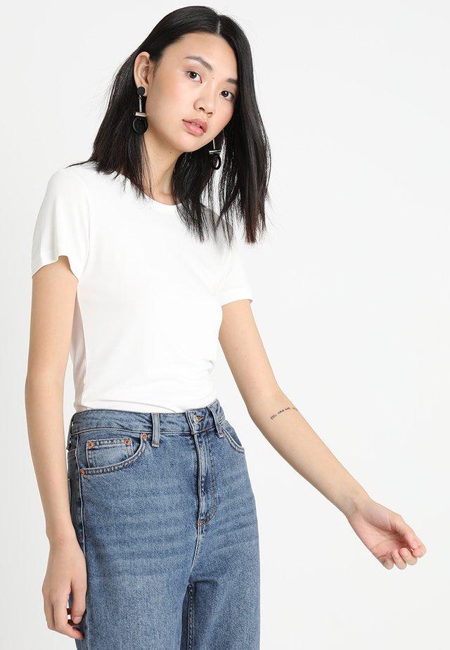 LILA - T-shirt basic - white