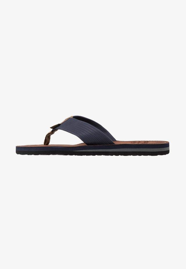 TOEMAN BEACH SANDAL - T-bar sandals - navy
