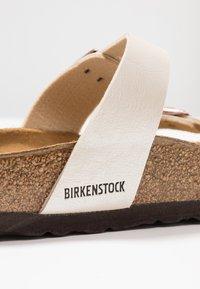 Birkenstock - MAYARI - T-bar sandals - graceful pearl/white - 2