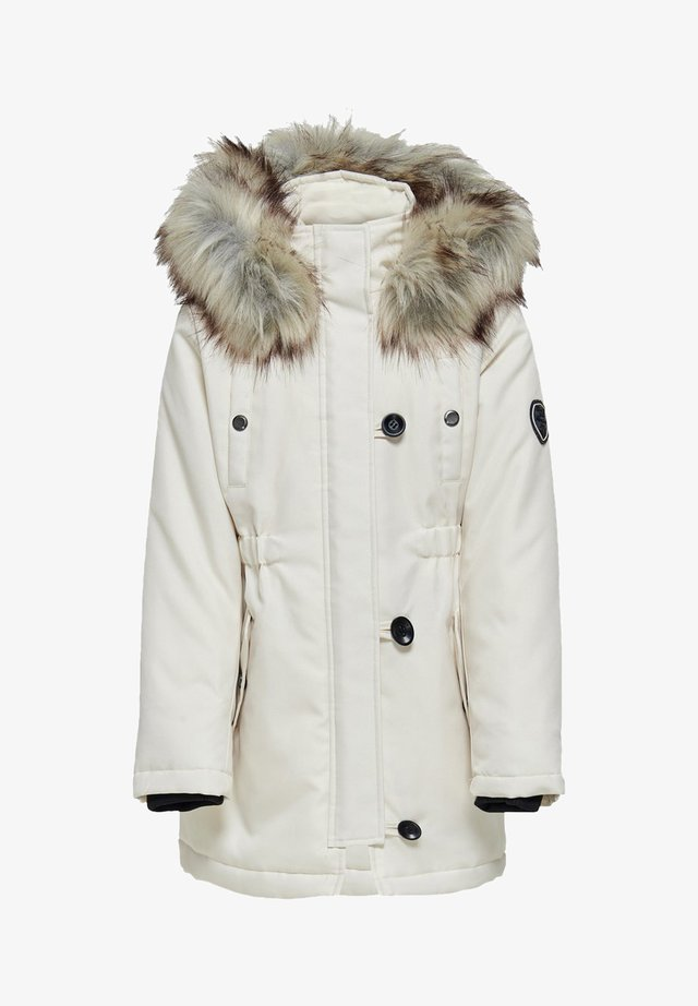 KONIRIS FUR CP OTW - Winter coat - eggnog