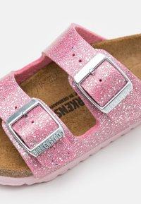 Birkenstock - ARIZONA BF - Pantofle - cosmic sparkle candy pink - 5