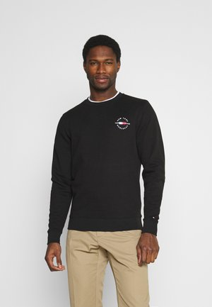 CIRCLE CHEST CORP CREWNECK - Collegepaita - black