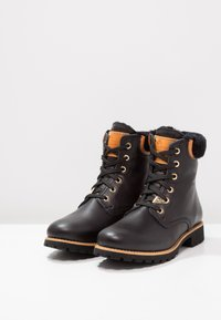 Panama Jack - IGLOO TRAVELLING - Lace-up ankle boots - black - 3