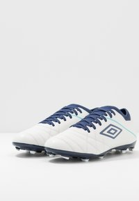 Umbro - MEDUSÆ III CLUB FG - Astro turf trainers - white/medieval blue/blue radiance - 2