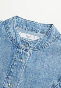 Mango - LOLA - Button-down blouse - middenblauw - 4