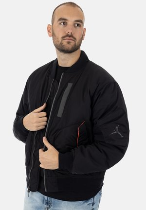 Giubbotto Bomber - black infrared