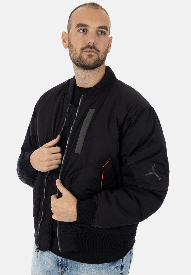 Jordan - Bomber Jacket - black infrared