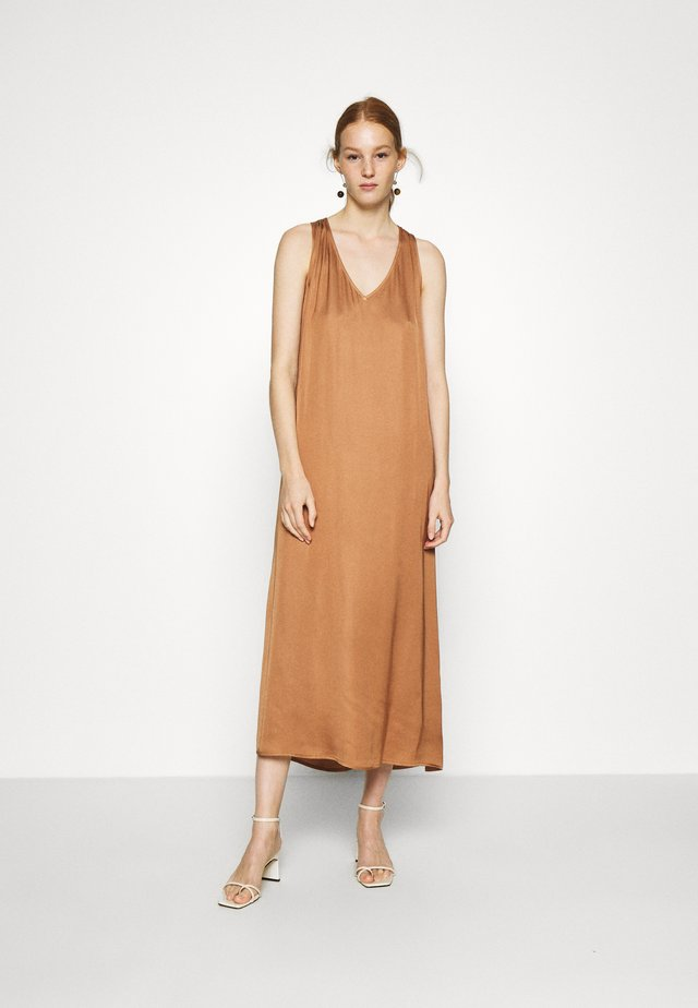 DRESS HANNA - Korte jurk - ochre