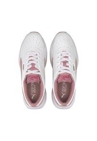 Puma - CILIA - Sneakers basse - white-foxglove-peachskin - 2