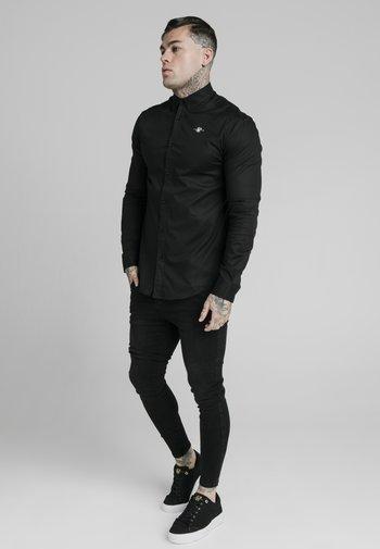 STANDARD COLLAR SHIRT - Kauluspaita - black