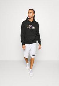 New Era - NFL BALTIMORE RAVENS HOODIE - Club wear - black - 1