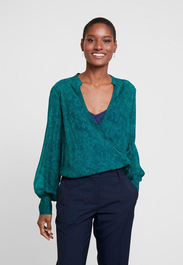 AZALEA - Bluse - dynastic green