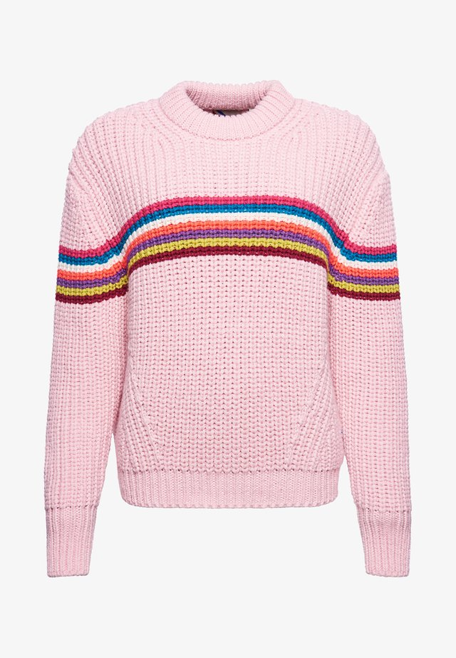 Jumper - pink stripe