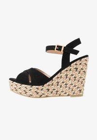 Anna Field - Korolliset sandaalit - black - 1