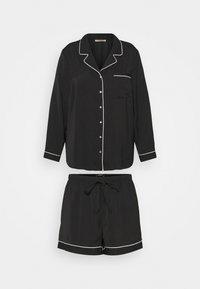 Anna Field - AMANDA SHORT SET  - Pyjama - black - 0