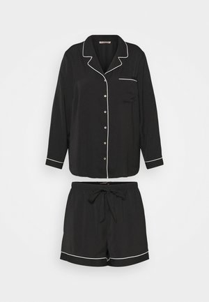 AMANDA SHORT SET  - Pyjama - black