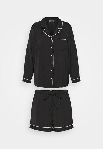 AMANDA SHORT SET  - Pyjama - black