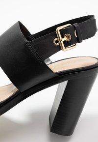 ALDO - FIELIA - Sandaler med høye hæler - black - 2