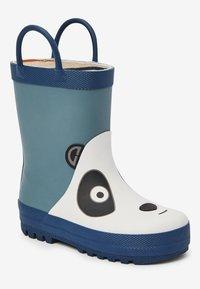 Next - PANDA HANDLE - Regenlaarzen - blue - 3