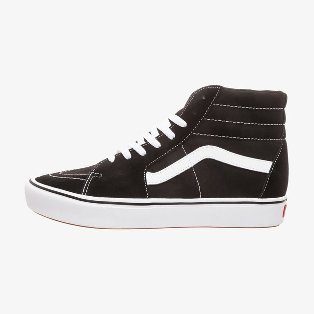 Sk8-Hi ComfyCush Sneaker - Höga sneakers - black / true white