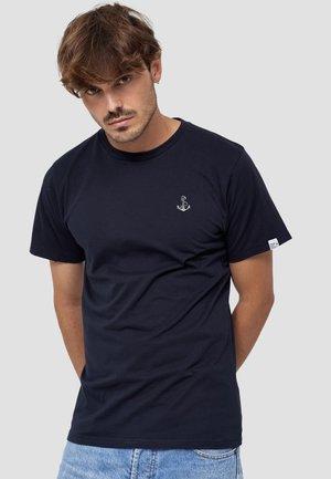 ANKER - T-shirt basic - blau