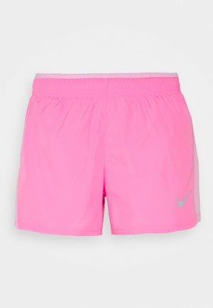 Pantalón corto de deporte - pink glow/pink rise/pink foam/wolf grey