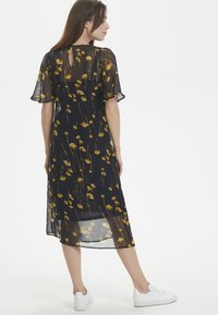 Soaked in Luxury - Maxi dress - navy/yellow - 2