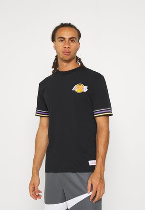 NBA LOS ANGELES LAKERS FINAL SECONDS TEE - Article de supporter - black