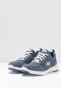 Skechers Sport - FLEX APPEAL 3.0 - Sneakers laag - slate/light pink - 4