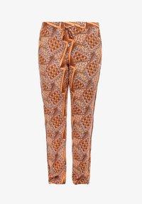 Triangle - LEICHTE  MIT SEITENPASPEL - Trousers - orange aop - 6