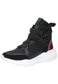 Sansibar Shoes - Korkeavartiset tennarit - schwarz - 2