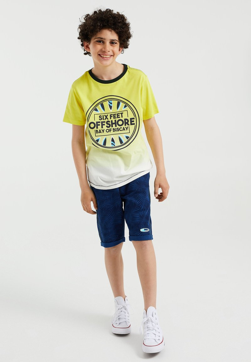 WE Fashion - Print T-shirt - yellow