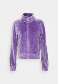 Juicy Couture - TANYA ACID TRACK - Sweater met rits - pastel lilac - 7
