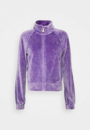 TANYA ACID TRACK - Mikina na zip - pastel lilac