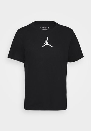 JUMPMAN CREW - T-shirt imprimé - black/white