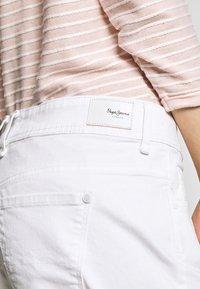 Pepe Jeans - SIOUXIE - Denim shorts - white denim - 4