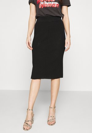SLFMARGE SKIRT - Pencil skirt - black
