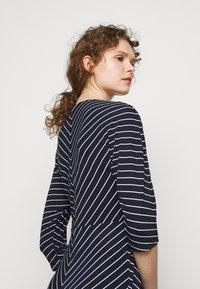Lauren Ralph Lauren - MATTE DRESS - Jersey dress - navy/colonial - 4