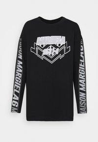 MM6 Maison Margiela - Long sleeved top - black - 5