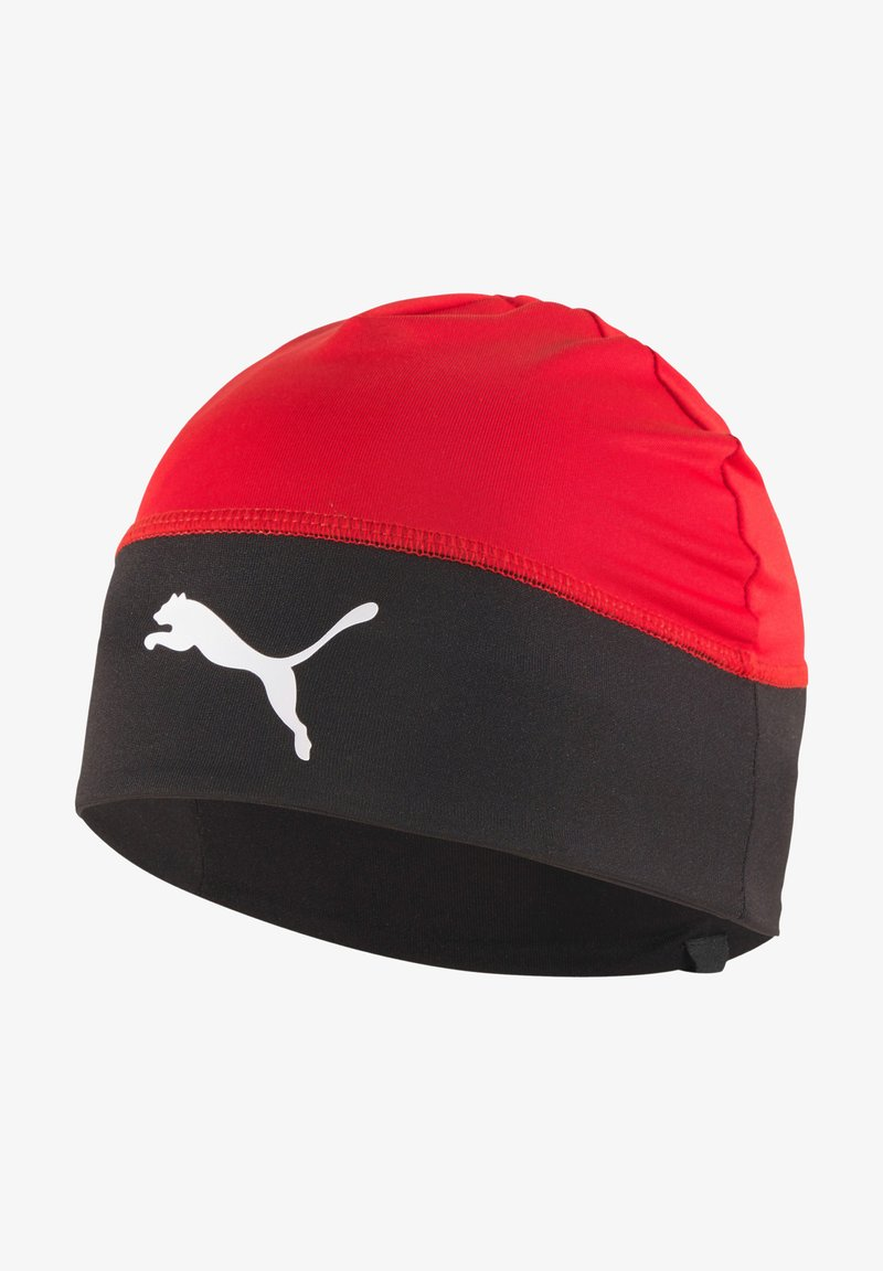 Puma - Beanie - rotschwarz