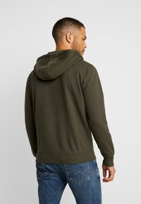 Solid - MORGAN ZIP - Zip-up hoodie - olive - 2