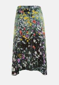 Ulla Popken - Pleated skirt - multi-coloured - 4