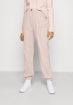 PANT - Tracksuit bottoms - misty rose